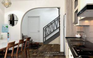 mẫu thiết kế không gian bếp