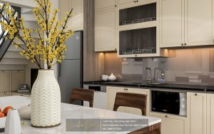 mẫu thiết kế nội thất nhà phố sang trọng