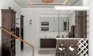 thiết kế nội thất nhà ống đẳng cấp