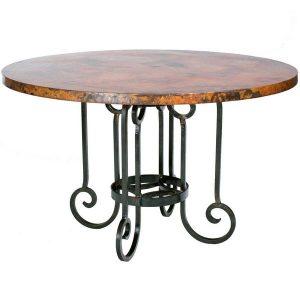 bàn sắt màu sắc nguyên bản