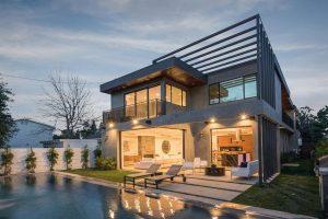 bề ngoài căn nhà