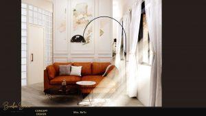mẫu thiết kế phòng thư giãn mở