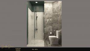 Mẫu nhà vệ sinh đơn giản nhưng sang trọng