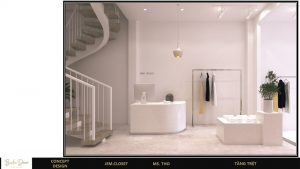 thiết kế showroom đẹp