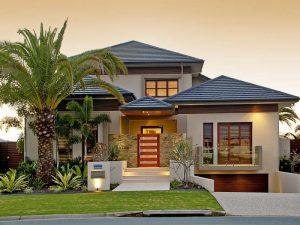 Sơn bên ngoài của căn nhà nhằ bảo vệ các tác động tiêu cực