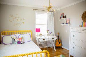 Trang trí phòng ngủ để tạo sự sáng tạo kích thích nhiều hơn cho trẻ nhỏ