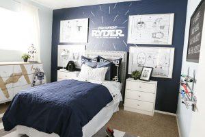 trang trí phòng ngủ con trai