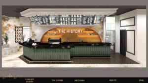 mẫu quán cafe đẹp history