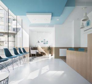 thiêt kế nội thất phòng khám nha khoa