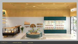 thiết kế showroom trưng bày
