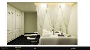 Mẫu giường thiết kế nội thất trắng sạch sẽ, thoáng đãng và nhẹ nhàng
