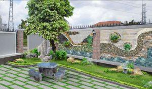 Trang trí ngoại thất sân vườn