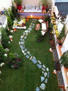Trang trí ngoại thất cho toàn bộ sân vườn là điều cần thiết