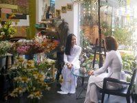 Pilosa Garden - quán cafe kết hợp kinh doanh hoa tươi được nhiều khách hàng yêu thích