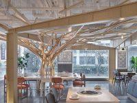 Không gian thiết kế nội thất nhà hàng cần phải rộng rãi và thông thoáng.