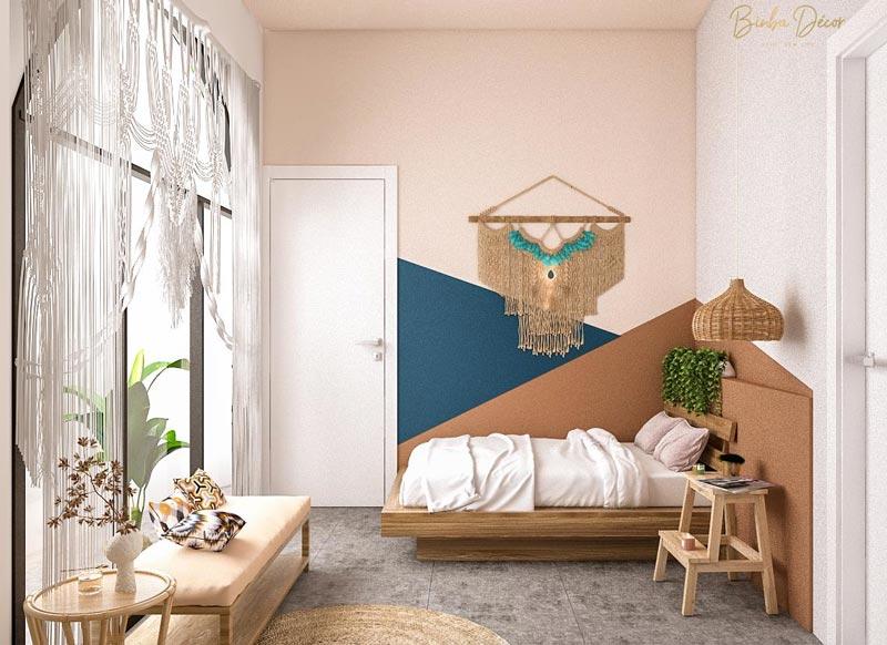 thiết kế phòng ngủ homestay