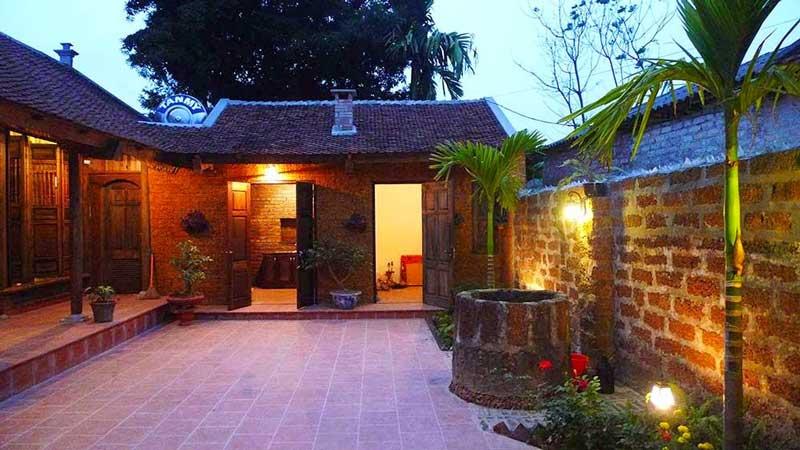 homestay kiến trúc Việt Nam cổ xưa