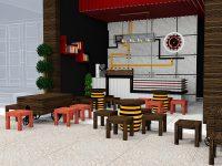 quán cafe cóc luôn có lượng khách hàng ổn định nhờ vào giá cả cạnh tranh