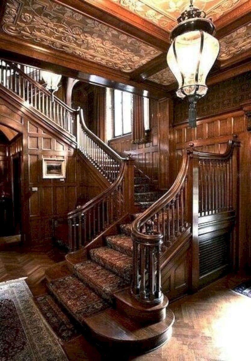 Mẫu thiết kế cầu thang gỗ đẹp, độc đáo