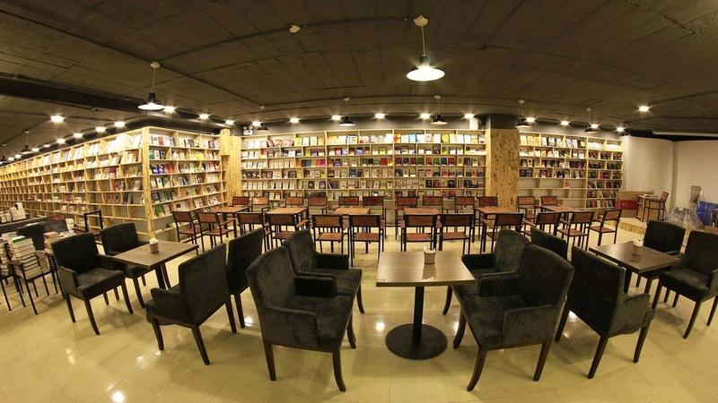 Cafe sách phục vụ nhu cầu thư giãn của khách hàng