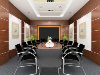 Thiết kế phòng họp hiện đại, sang trọng