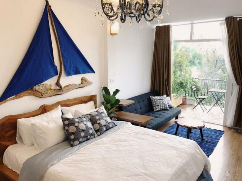 Không gian phòng ngủ cũng cần được chú trọng đầu tư thiết kế