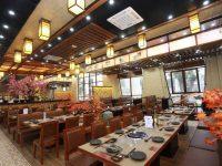 Không gian thưởng thức ẩm thực của mô hình nhà hàng sashimi Nhật Bản