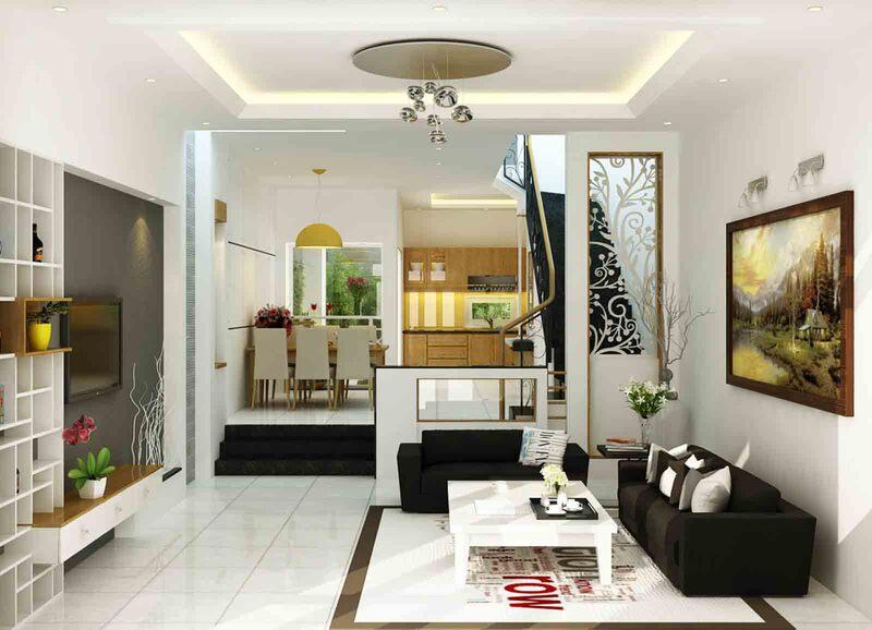 Trang trí phòng khách đẹp và ấn tượng