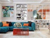 Vị trí đặt sofa phù hợp, có chỗ dựa và không đối diện cửa ra vào