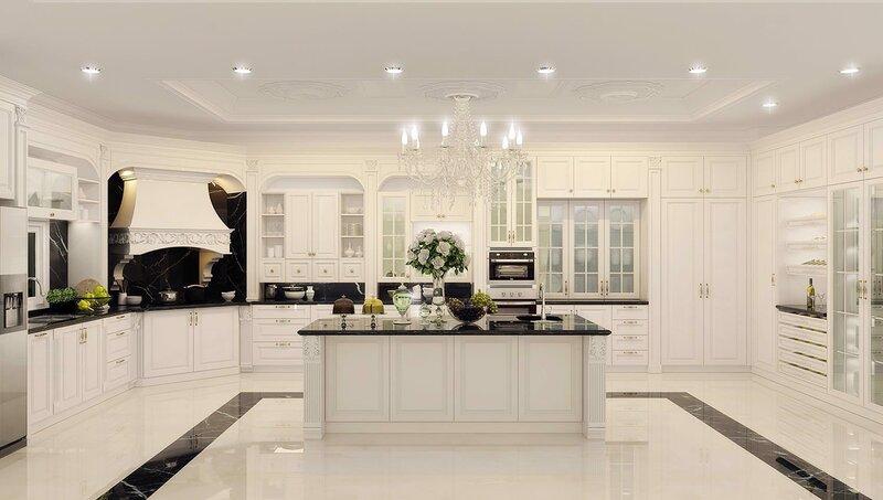 Sử dụng vật liệu gỗ để thiết kế nội thất phòng bếp